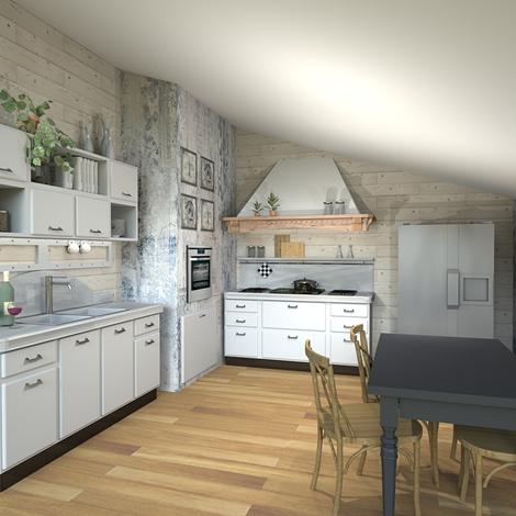 Cucina marchi saint louis composizione 5 scontato del - Marche cucine a gas ...