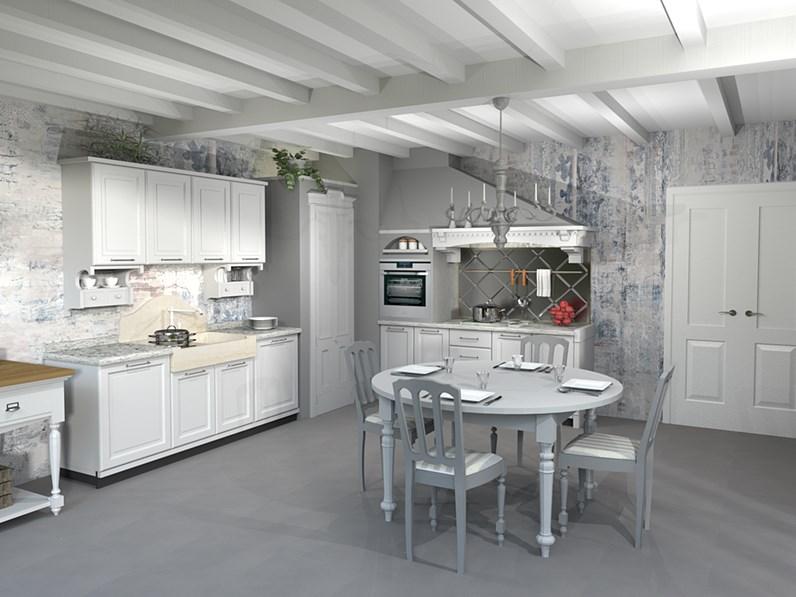 Cucina marchi nolita composizione 7 scontato del 40 - Marchi cucine outlet ...