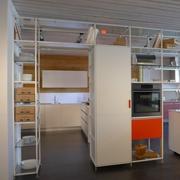 blocco colonne dispensa, frigo e forno Meccanica disposizione a isola