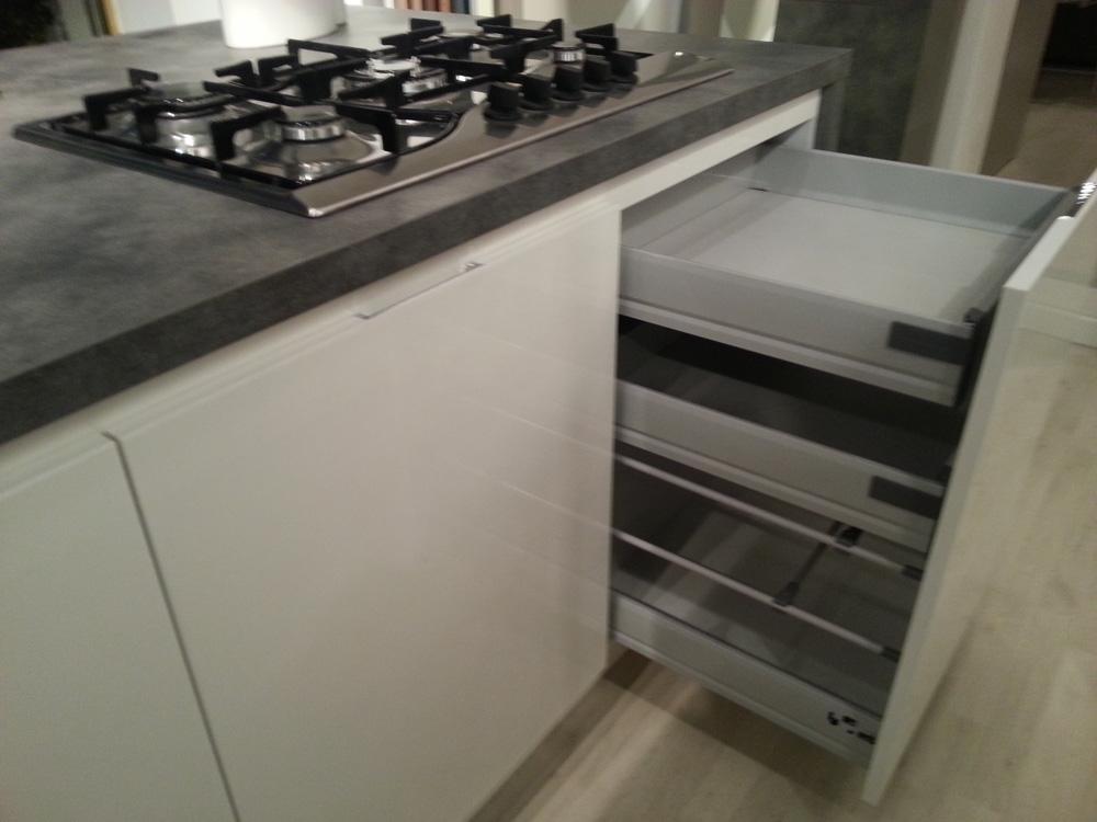 Cucina bontempi cucine bontempi moderna laminato lucido for Minotti cucine outlet