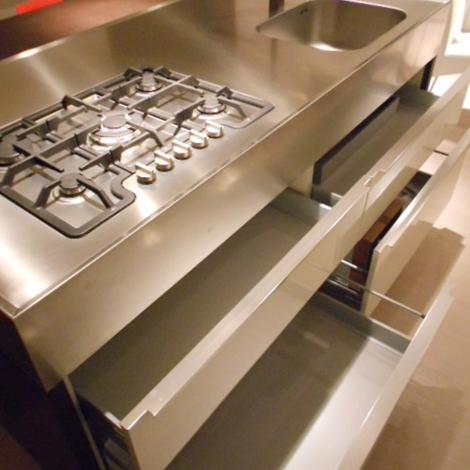 Cucina Miton Cucina con blocco isola attrezzata scontato del -41 % - Cucine a prezzi scontati