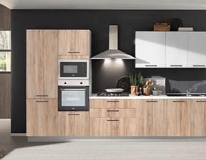 Cucina Mobilturi cucine moderna lineare in laminato materico Cloe