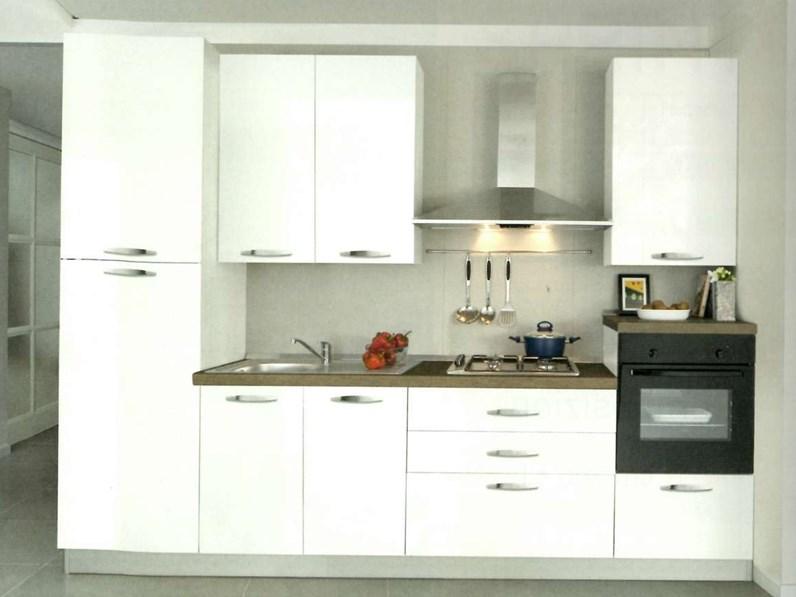 Cucina Mobilturi cucine moderna lineare altri colori in legno M2