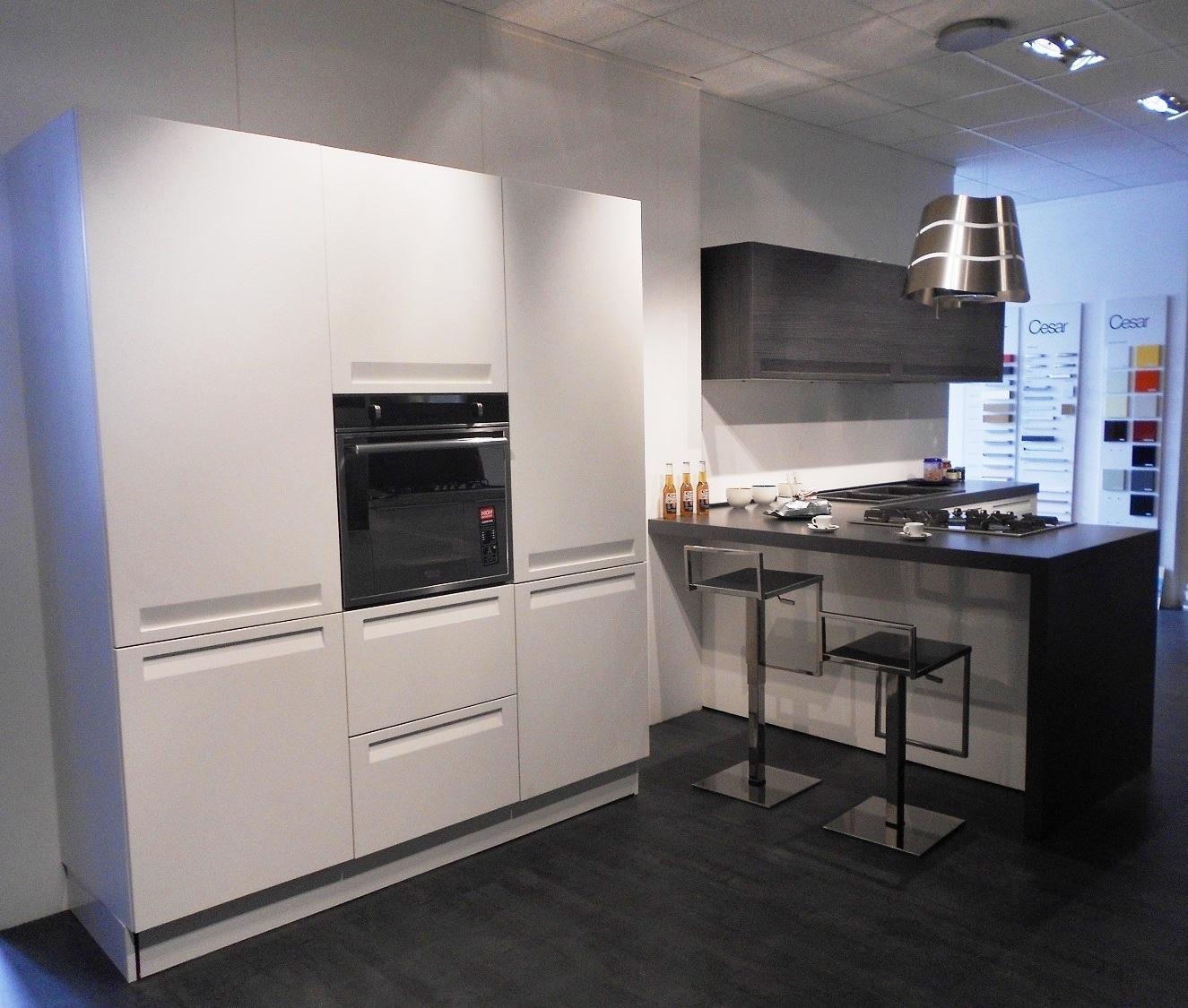 Cucina mod frida cesar cucine polimerico opaco scontata del 50 cucine a prezzi scontati - Pensili cucina prezzi ...
