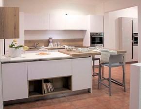 Cucina Mod kali' moderna bianca ad isola Arredo3
