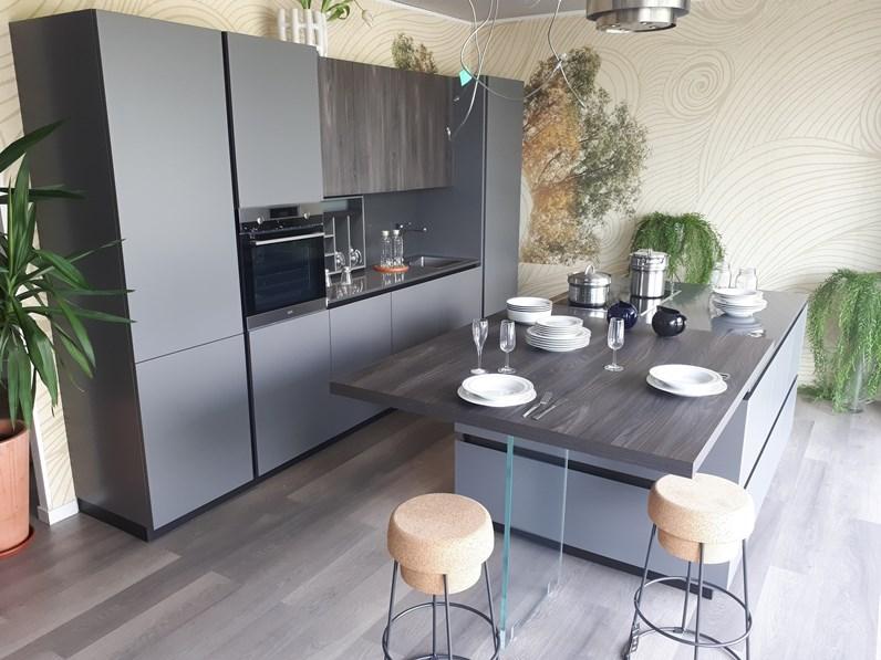 Cucina Mod. Lihma laccata matt di miton - super occasione design ...