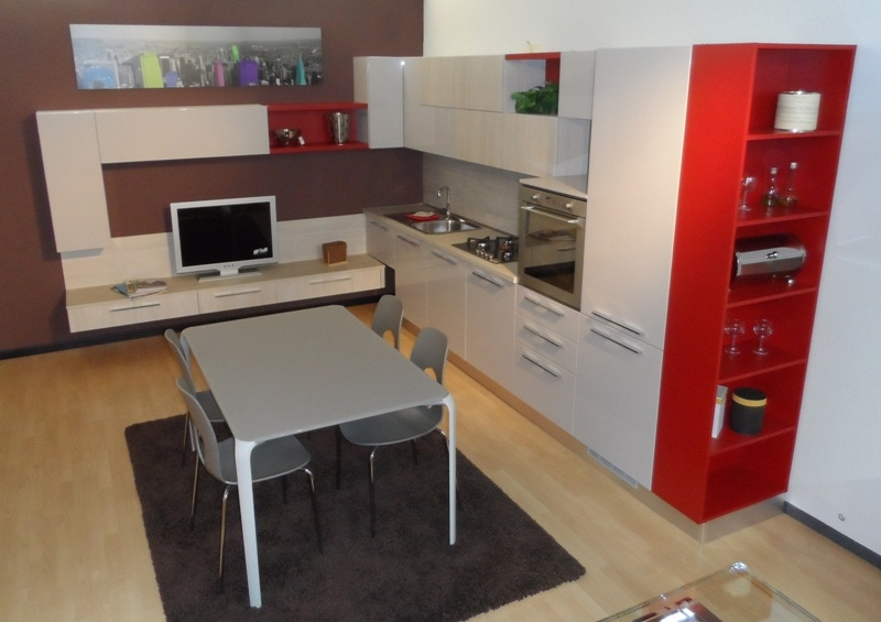Cucine Lube cucine lube o arredo3 : Prezzi Arredo3 Torino Outlet: offerte e sconti