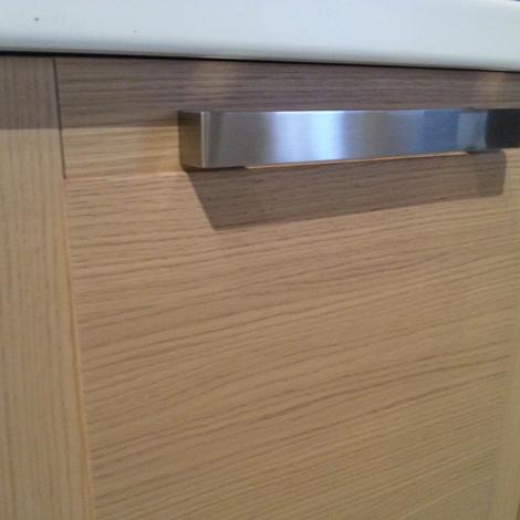 Cucina zanotto in legno moderna legno rovere chiaro - Cucine in legno chiaro ...