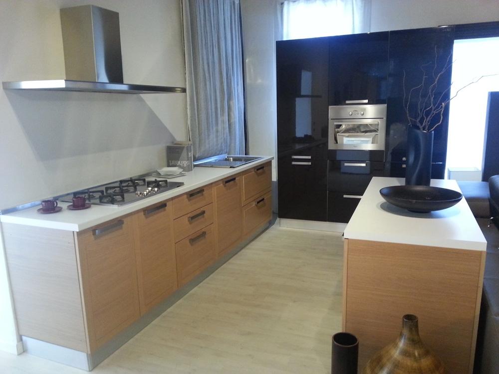 Cucina zanotto in legno moderna legno rovere chiaro   cucine a ...