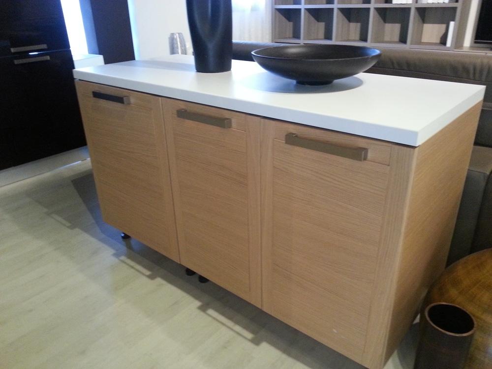 Cucina zanotto in legno moderna legno rovere chiaro cucine a prezzi scontati - Cucine in legno chiaro ...