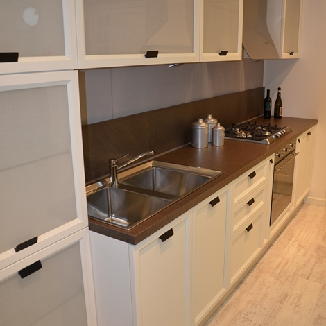 Cucina scavolini mod atelier 44 cucine a prezzi scontati - Cappa cucina laterale ...