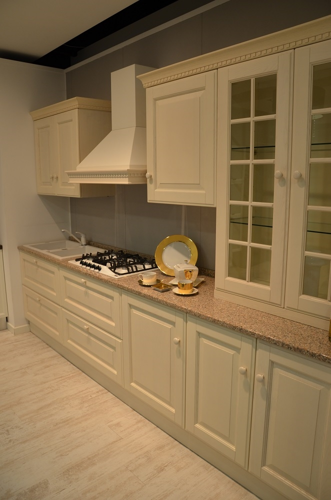 Cucina scavolini baltimora frassino bianco legno 39 cucine a prezzi scontati - Cucina scavolini baltimora ...