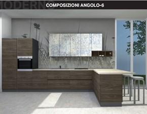 Cucina modello Composizione ad angolo 6 Arrex PREZZO SCONTATO