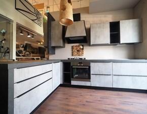 Cucina modello Cucina grigio ossido cemento industrial  Nuovi mondi cucine PREZZO SCONTATO