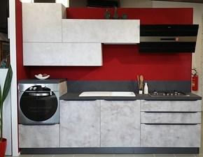 Cucina modello Cucina lineare moderna qualità alta  Atra PREZZO SCONTATO