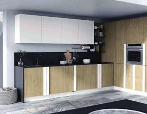 Cucina modello Cucina maxi con colonne prezzo offerta  Nuovi mondi cucine PREZZO SCONTATO