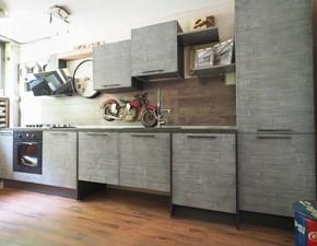 Cucina modello Cucina modello legno bambu crash grigio in offerta  Nuovi mondi cucine PREZZO SCONTATO