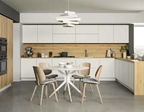 Cucina modello Cucina white design con colonne  Nuovi mondi cucine PREZZO SCONTATO