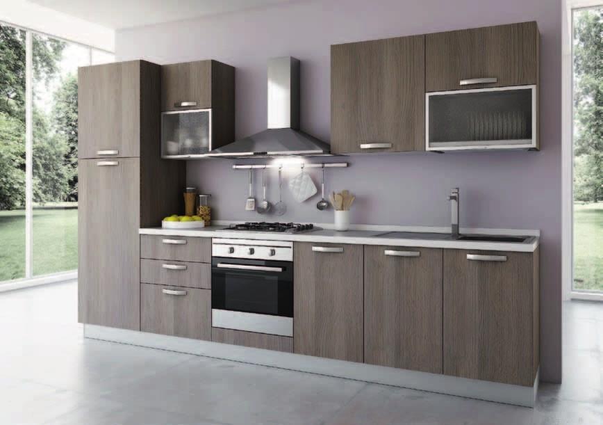 cucina modello idea l315 x h207cm