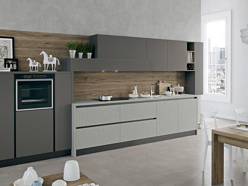Cucina modello kal arredo3 lineare competa di elettrodomestici eletrolux finiture a scelta - Cucina arredo3 kali ...