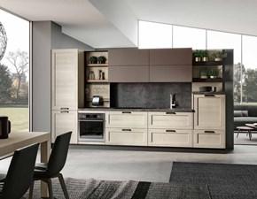 Cucina Modello lipari/capri design rovere chiaro lineare Imab group