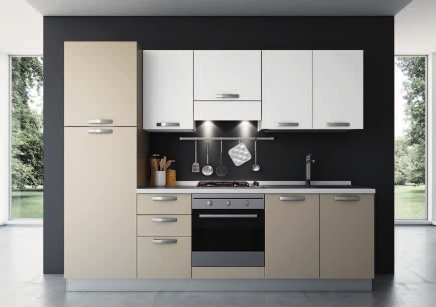 Cucina modello love con elettrodomestici indesit compresi - Cucine senza elettrodomestici ...