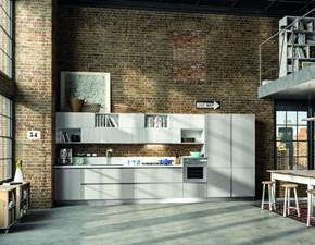 Cucina modello Mod.atra versione olmo platino Artigianale PREZZO SCONTATO