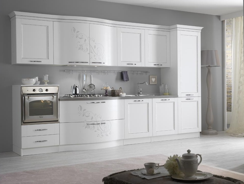 Cucina Spar Prestige bianca Moderna - Cucine a prezzi scontati