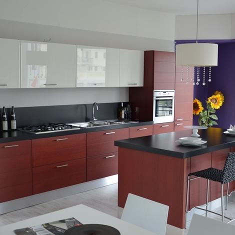 Cucina modello rainbow cucine a prezzi scontati - Cappa cucina laterale ...