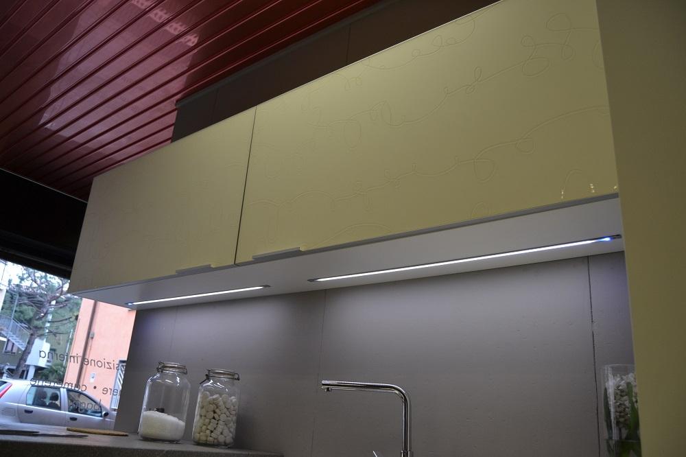 Cucina modello yara outlet cucine a prezzi scontati - Ikea illuminazione sottopensile cucina ...