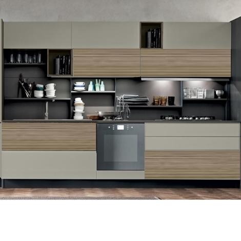 Cucina modena essenza canape 39 prezzo outlet arredamento for Outlet arredamento cucine