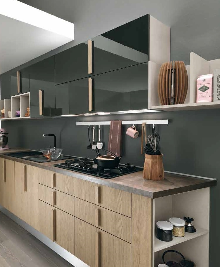 Pensili per cucina la scelta giusta variata sul design - Pensili per cucina ...