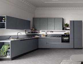 Cucina moderna ad angolo Ar-tre Laccata opaco a prezzo ribassato