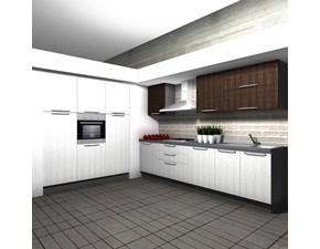 Cucina moderna ad angolo Aran cucine Cucina-tipo mod.marylin scontata del 50% a prezzo scontato