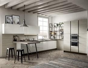 Cucina moderna ad angolo Arredo3 A 1 a prezzo ribassato