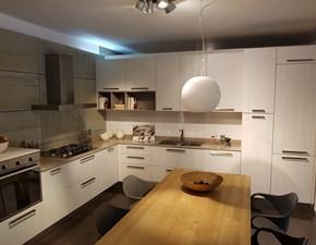 Cucina moderna ad angolo Arredo3 Cloe a prezzo scontato