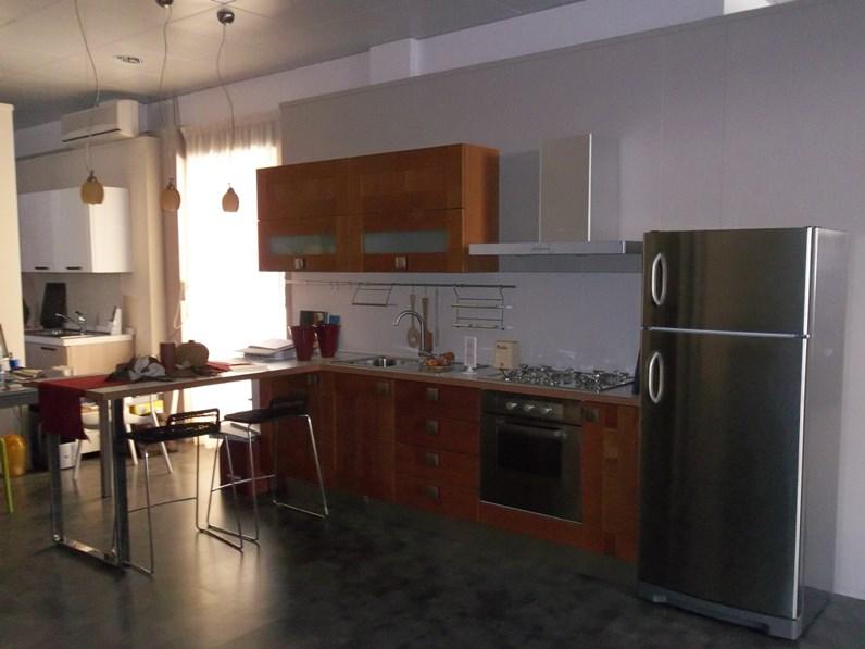 Cucina moderna ad angolo Berloni cucine Giuseppe a prezzo scontato