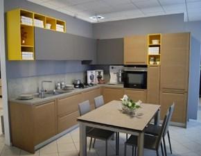 Cucina moderna ad angolo Copat cucine 3.1 a prezzo ribassato