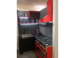 Cucina moderna ad angolo Dibiesse Area 22 a prezzo scontato
