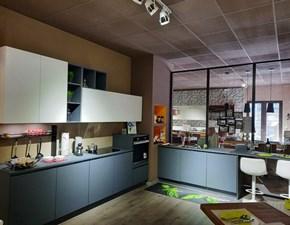 Cucina moderna ad angolo Gicinque Design a prezzo scontato