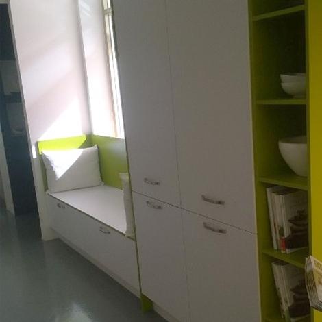 Cucina moderna ad angolo life con cappa a isola scontata - Cucina moderna ad angolo ...