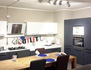 Cucina moderna ad angolo Lube cucine Adele a prezzo ribassato