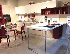 Cucina moderna ad angolo Lube cucine Noemi  a prezzo scontato