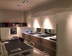 Cucina moderna ad angolo Scavolini Mood a prezzo ribassato