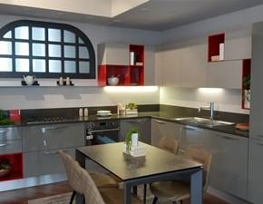 Cucina moderna ad angolo Scavolini Mood a prezzo scontato