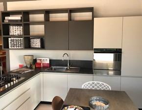 Cucina moderna ad angolo Scavolini Motus a prezzo ribassato