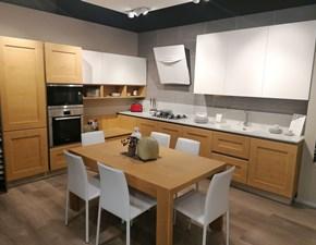 Cucina moderna ad angolo Veneta cucine  dialogo - oyster a prezzo ribassato