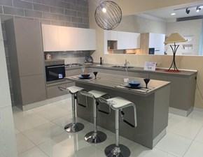 Cucina moderna ad isola Imab group Capri visone a prezzo ribassato