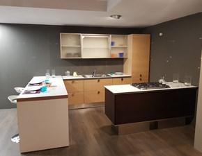 Cucina moderna ad isola Lube cucine Marta a prezzo ribassato