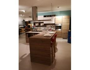 Cucina moderna ad isola Scavolini Liberamente a prezzo ribassato